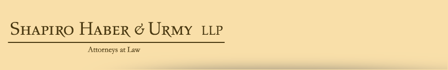 Shapiro Haber & Urmy LLP - Attorneys at Law